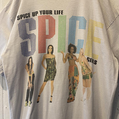 "90s ""SPICE GIRLS"" printed T-shirt"