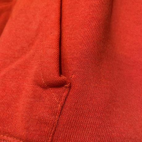 70s zip up sweat parker