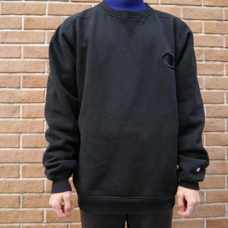 """Champion"" Oversized sweat (Black)"