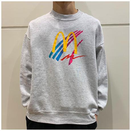 """90s """"McDonald's""""print sweat shirt"""