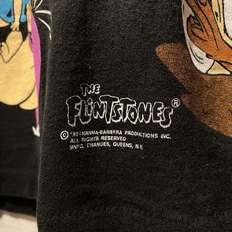 "90s ""THE FLINTSTONES"" T-shirt"