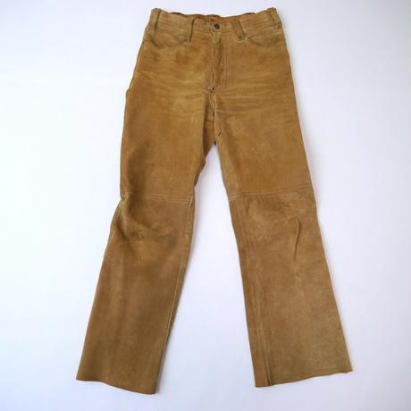 70's LEVI'S suede pants