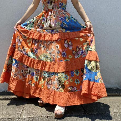 90s camisole long dress