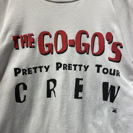 "90s ""The Go-Go's"" L/S cut sew"