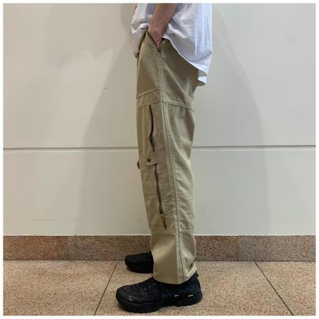 80s cotton design pants