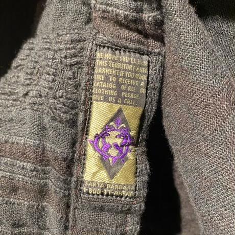 90s~ oversized L/S design shirt