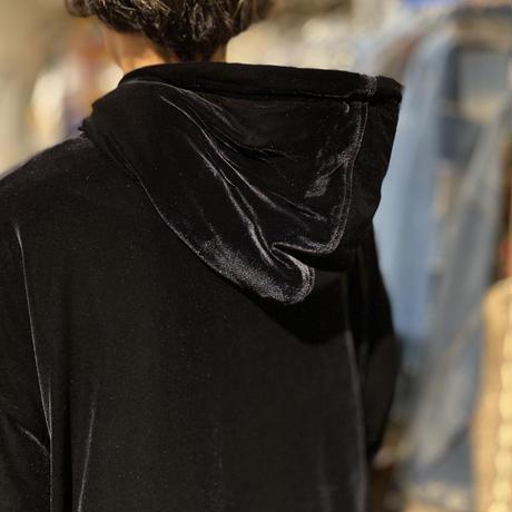 90s velour zip up jacket