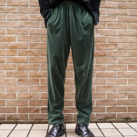 Velours easy pants