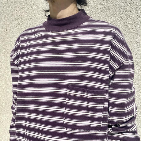 """90s~ """"EDDIE BAUER"""" striped tee"""