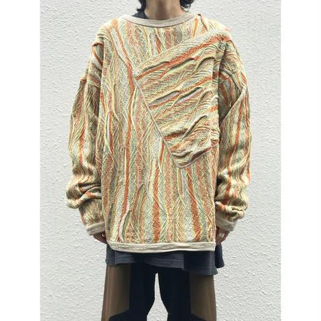 """90年代 """"COOGI"""" 3Dニットセーター"""