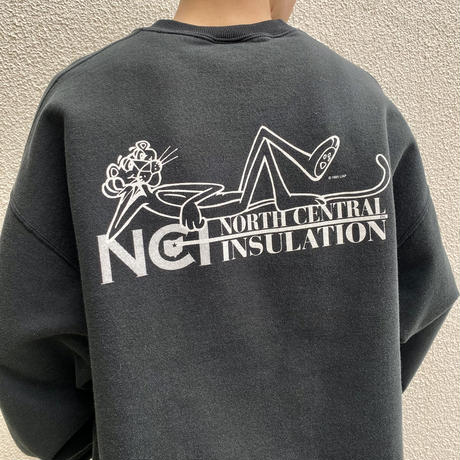 90s~ printed sweat shirt