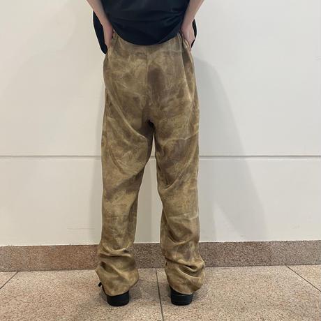 80s python patterned silk pants