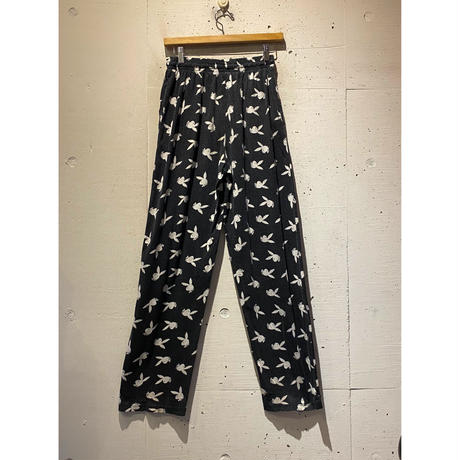 "90s ""PLAY BOY"" easy pants"