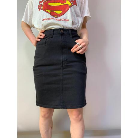 90年代 ブラックデニムスカート