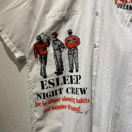 "80s ""ESLEEP"" S/S shirt"