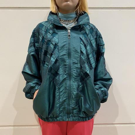 80s design nylon jacket