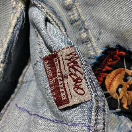 90s〜custom denim jacket