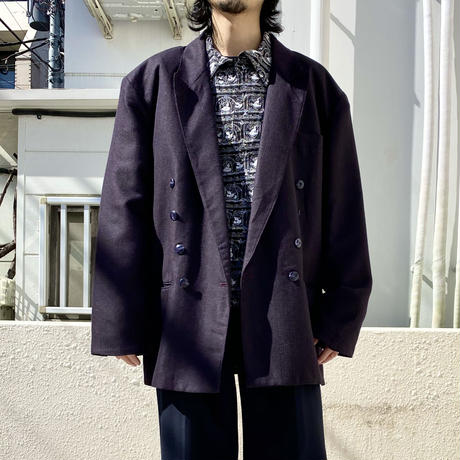 90s double breasted tailored jacket (PPL)