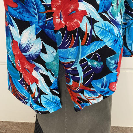oversized S/S rayon shirt