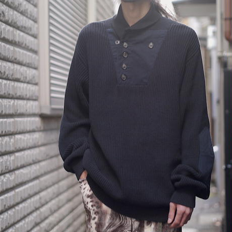 """ORVIS"" design cotton knit"