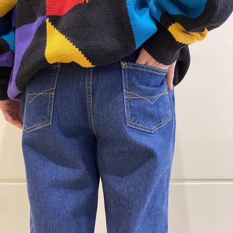 90s flare denim pants