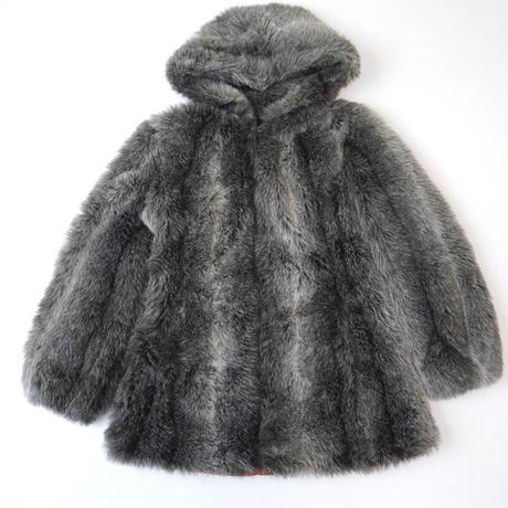 80's Foodie fake fur jacket