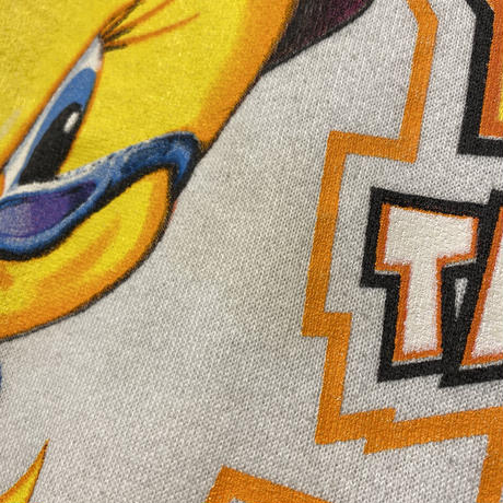 "90s〜 ""Tweety Bird"" printed sweat shirt"