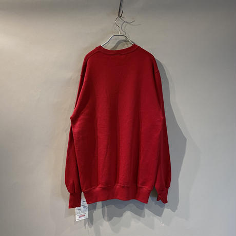 80s dead stock plain sweat shirt