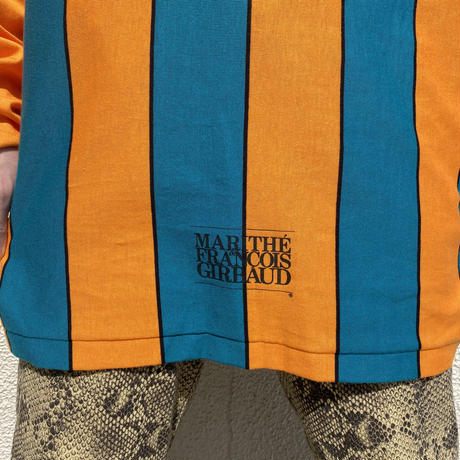 """90s """"MARITHE&FRANCOIS GIRBAUD"""" L/S tee"""