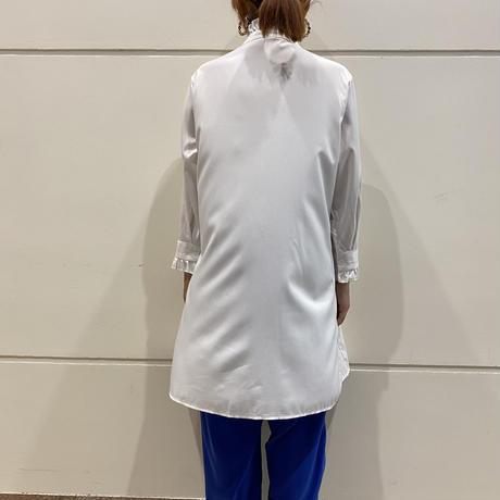 old frill design shirt dress