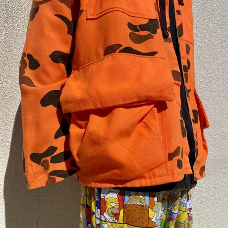 old all patterned 4pockets jacket