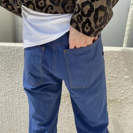 70s~ semi-flare denim pants