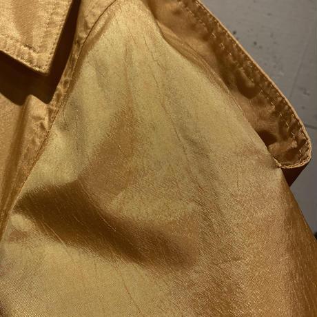 90s~ shiny design long coat
