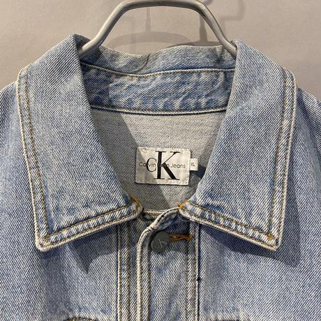 """""""Calvin Klein Jeans"""" design denim jacket"""