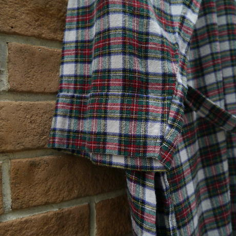 """POLO"" check pattern gown"