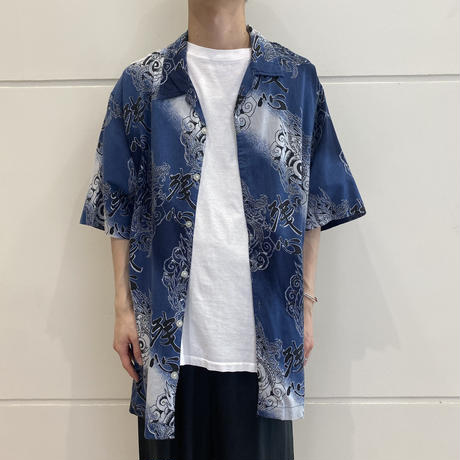 old all patterned S/S shirt