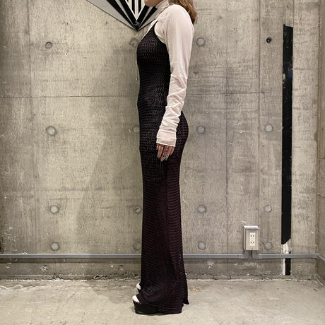 old camisole long dress