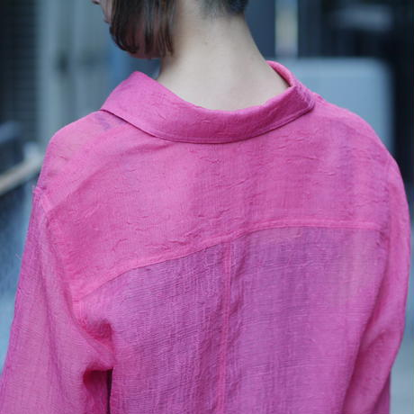 see-through L/S shirt