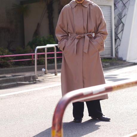 Oversized foodie balmacaan coat