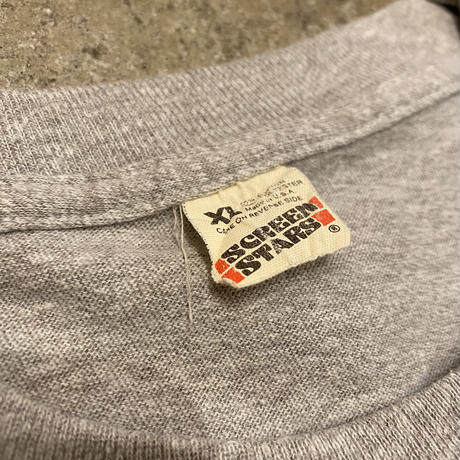 "80s~ ""SHOE BOX GREETINGS"" printed T-shirt"