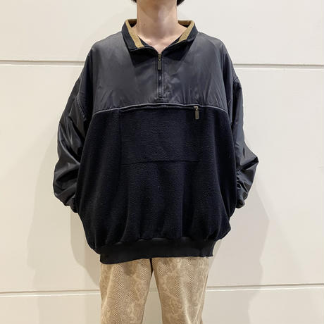 90s swicthing design fleece pullover