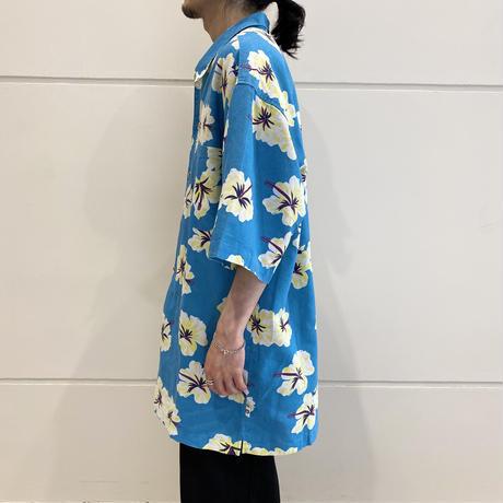 "90s ""BUGLE BOY"" flower patterned shirt"