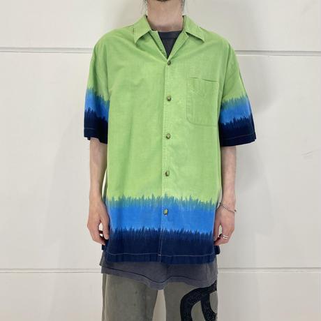 90s S/S gradation design shirt