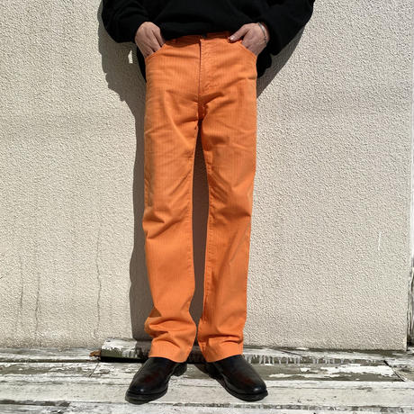 """"""" VERSACE JEANS COUTURE"""" striped design pants"""
