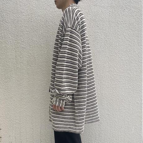 90s~ oversized design cotton shirt