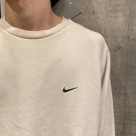 """""""NIKE"""" sweat shirt (BEG)"""