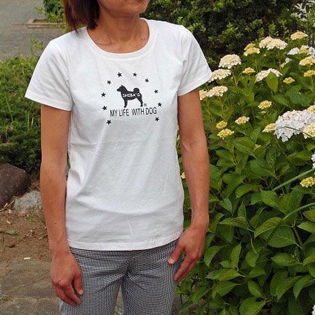 Tシャツ(女性専用) スターサークル デザイン