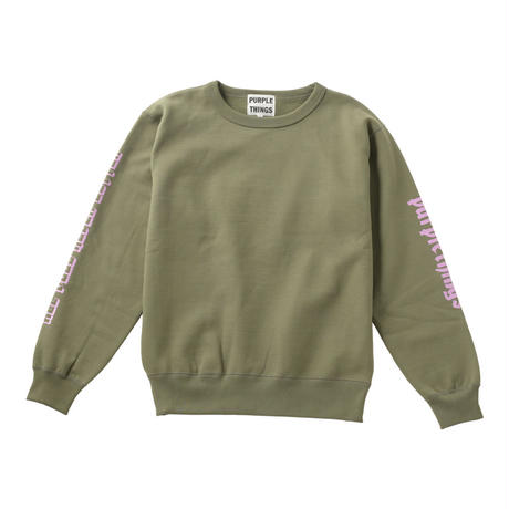 【18AW】AGNB CREW SWEAT SHIRT