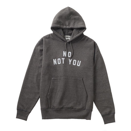 【18AW】NOT YOU HOODIE