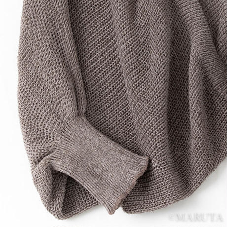 Knit Okazaki dolman sleeve Bolero